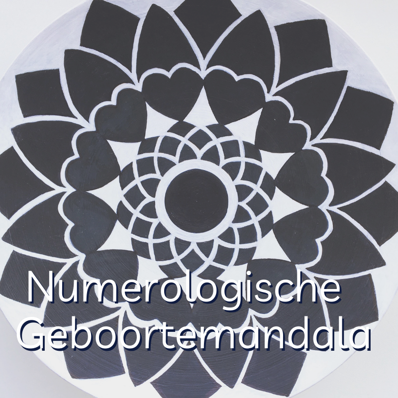 Numerologische Mandala maken