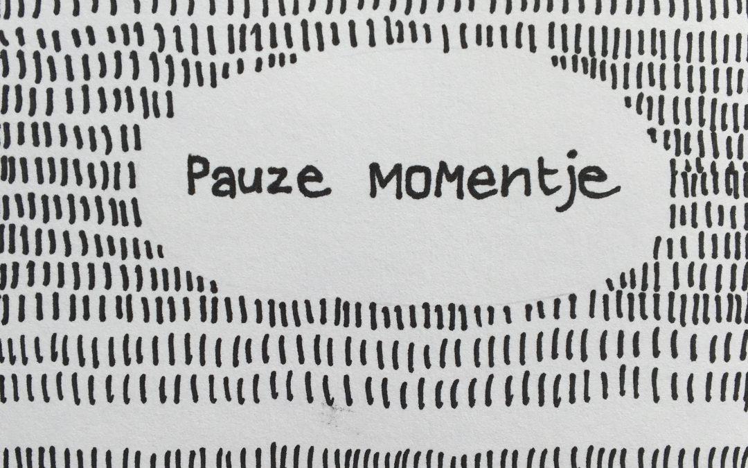 Pauze momentje