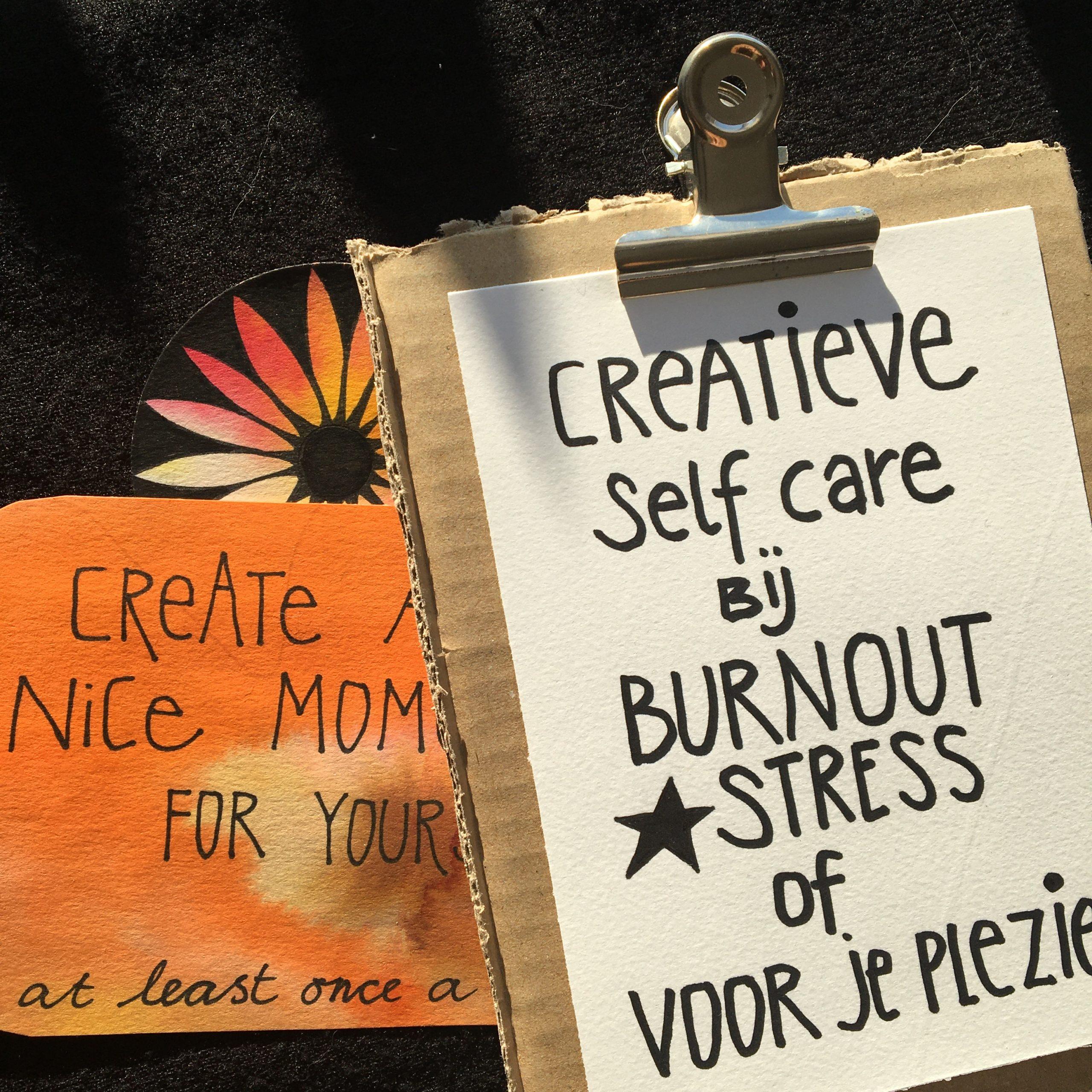 4-DAAGSE * Online cursus Creatieve APK;  Zelf-Care bij Stress & Burn-out