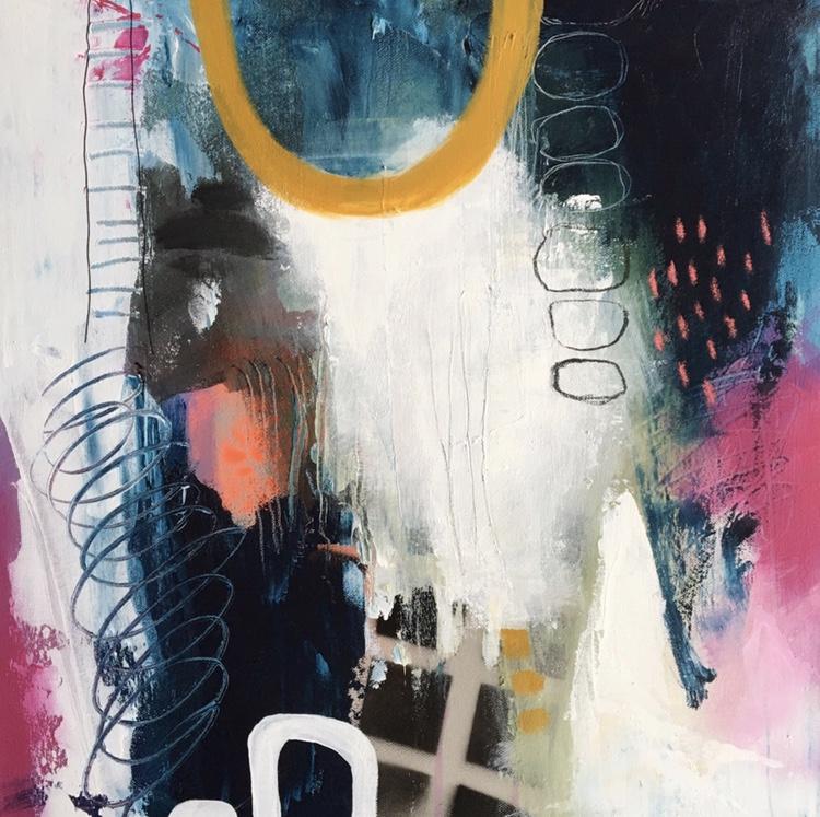 Intuitief & Abstract schilderen, Mixed Media